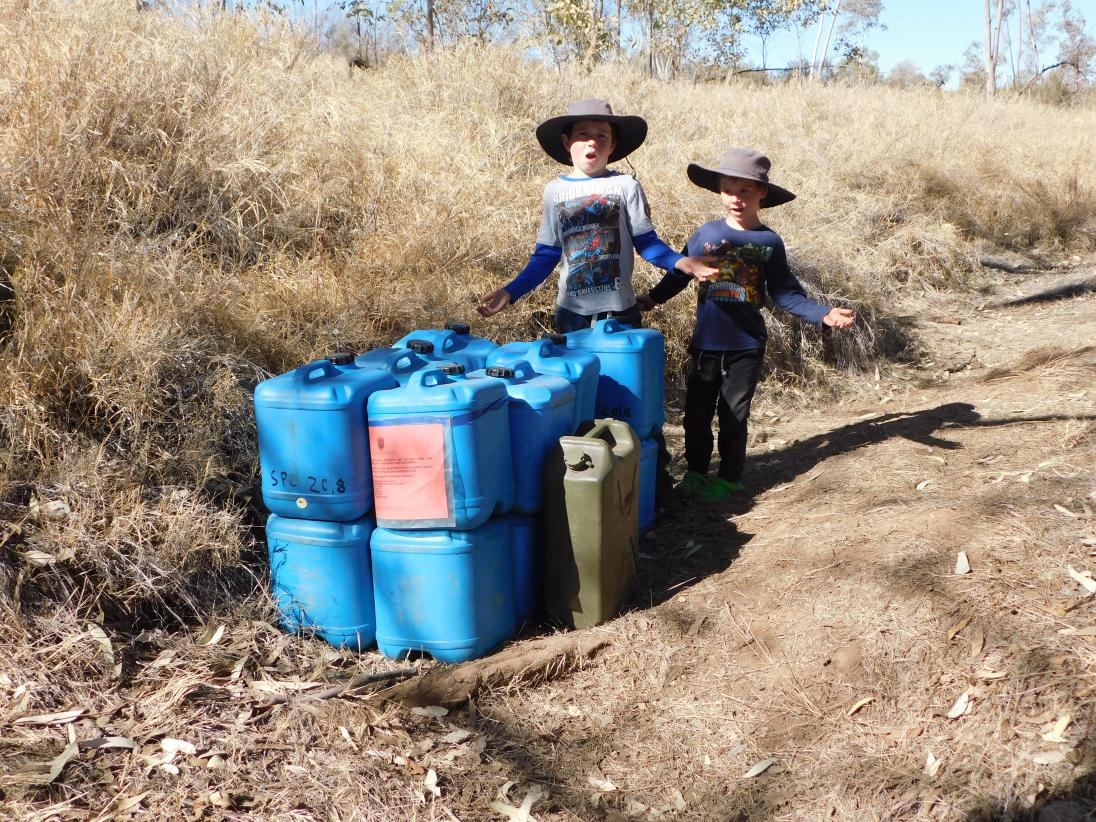 Hugh River- water storage found for uni students