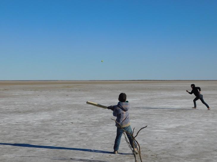 Lake Eyre- Cricket (4)
