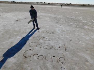 Lake Eyre- Cricket (8)