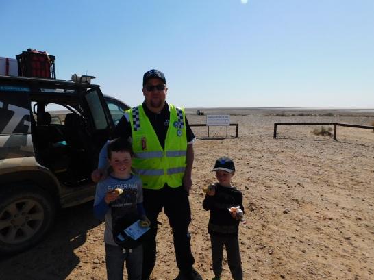 Lake Eyre South Lookout SA Variety Big Bash pie way patrol