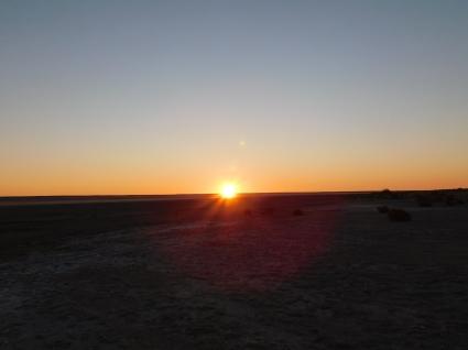 Lake Eyre sunset
