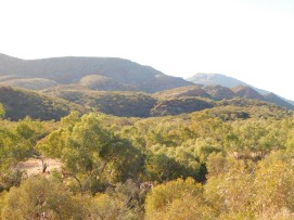 Ormiston Gorge- Lookout