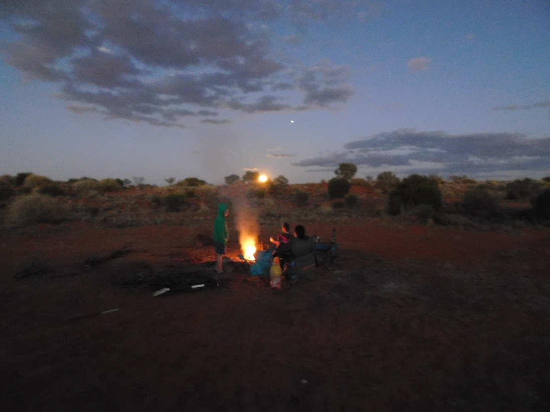 Simpson desert- camp 2