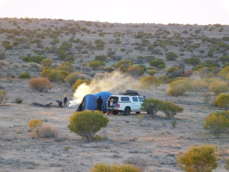 Simpson Desert-camp 3