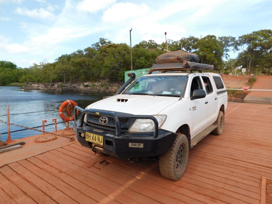 Cape York- Jardine River Barge
