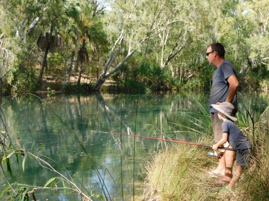 Riversleigh- fishing