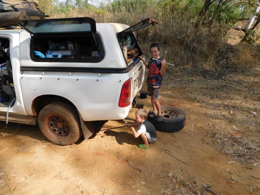 Roper Bar- flat tyre