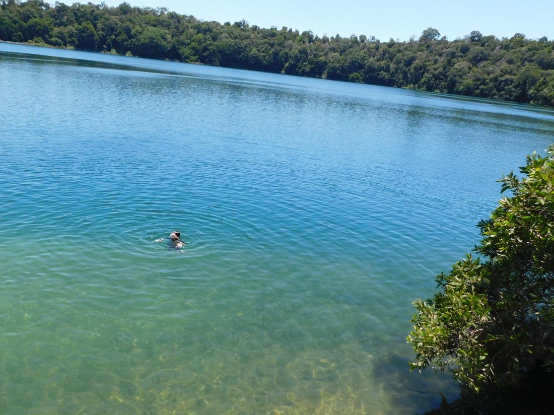 Eacham- swimming
