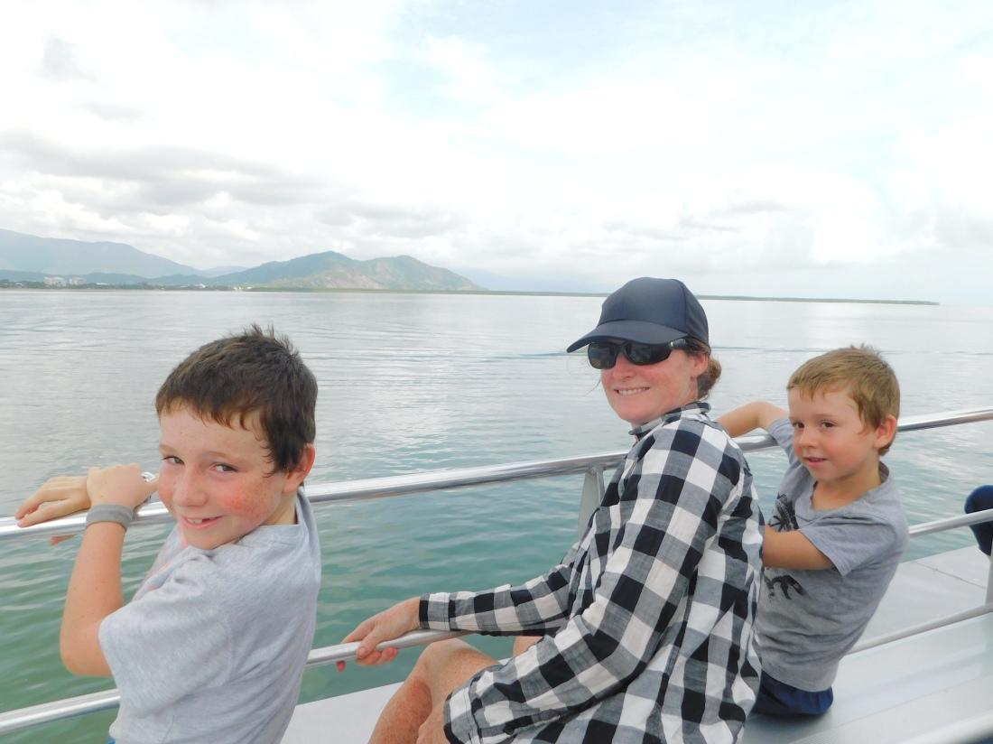 Green Island all aboard