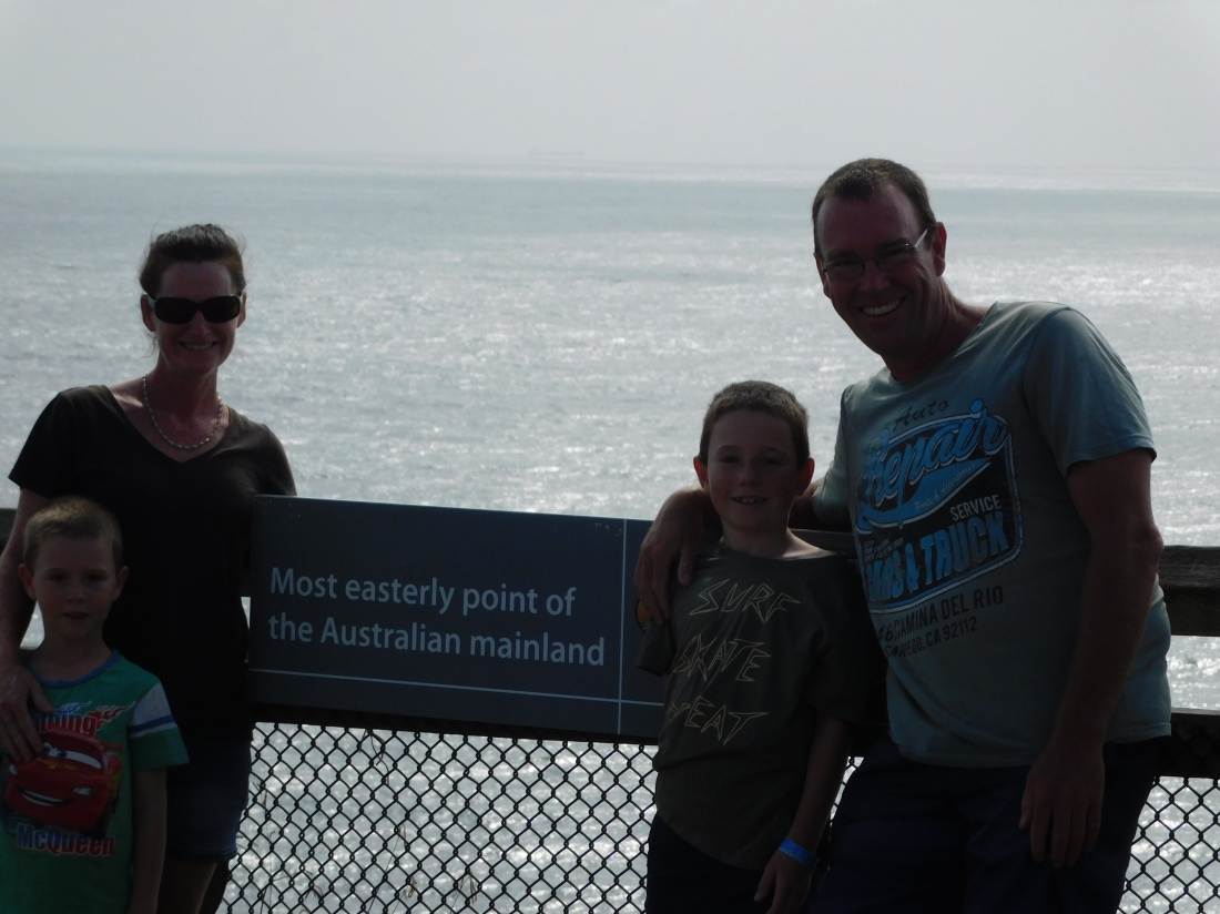 Byron Bay- most easterly point of Australia