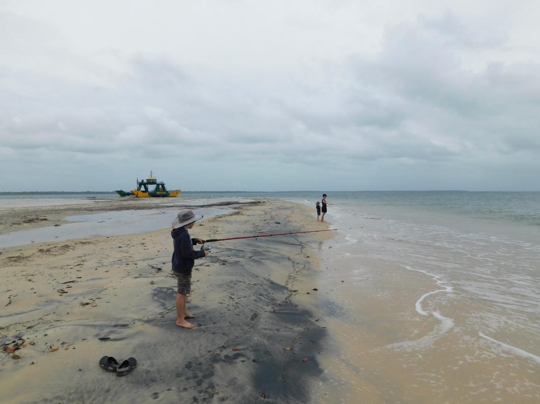 Inskip Peninsular Fishing