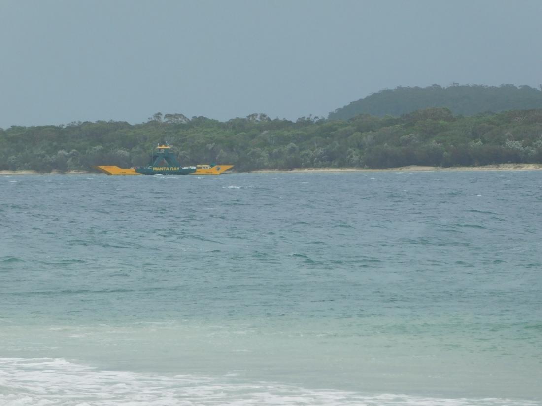 Inskip Penninsular Frazer Island Ferry
