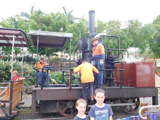 Maryborough Steam Train