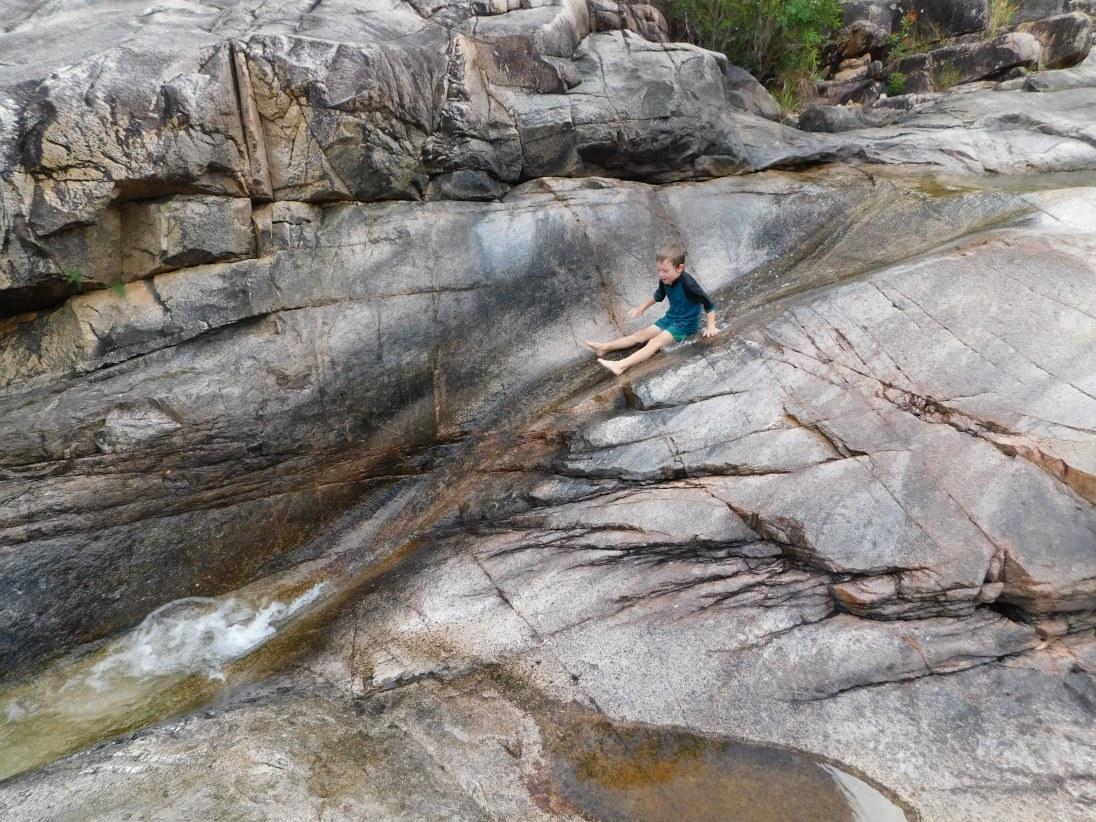 Crystal Creek Rock Slide