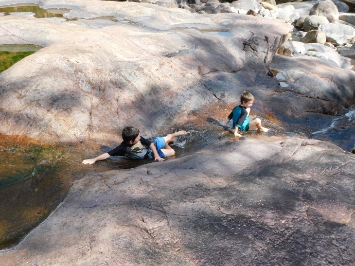 Crystal Creek Rock Slides