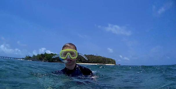Green Island Cam snorkelling
